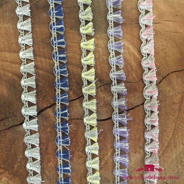 Flecos de colores