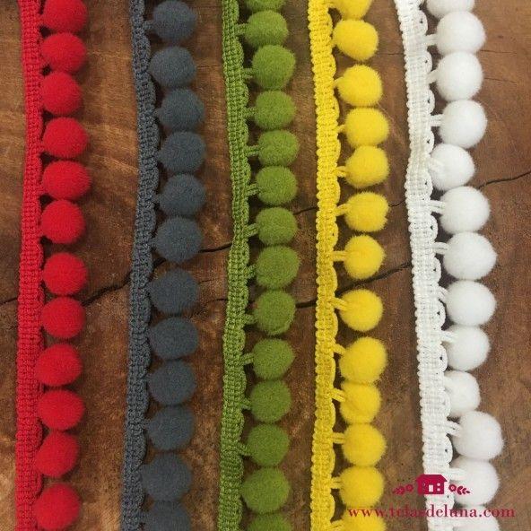 Madroños de colores