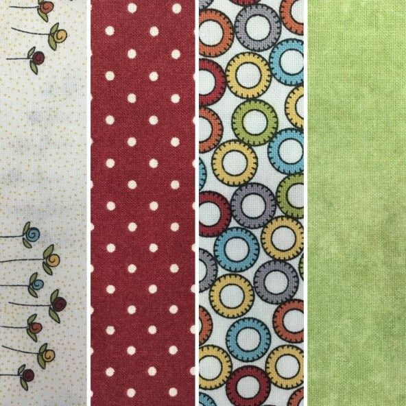 Fat Quarters mix Moda Fabrics