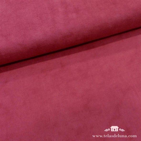 Tela franela color vino