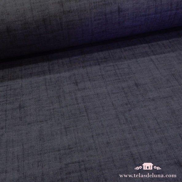 Mantel antimanchas liso azul marino