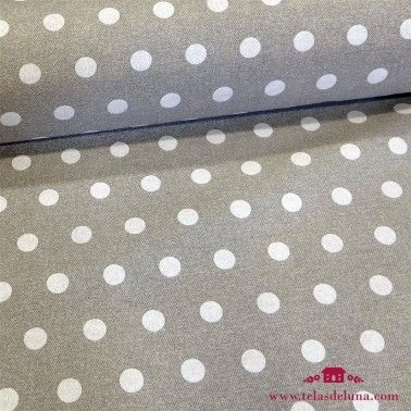 Mantel resinado antimanchas gris topos 180cm