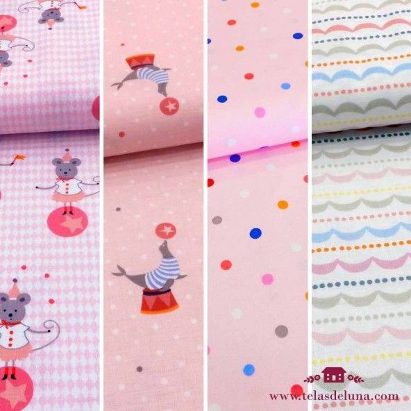 Fat quarters circo gutermann