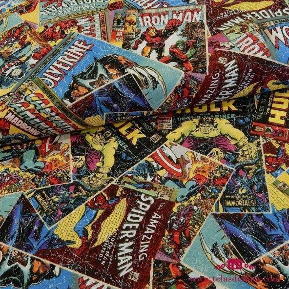 Tela superheroes Marvel