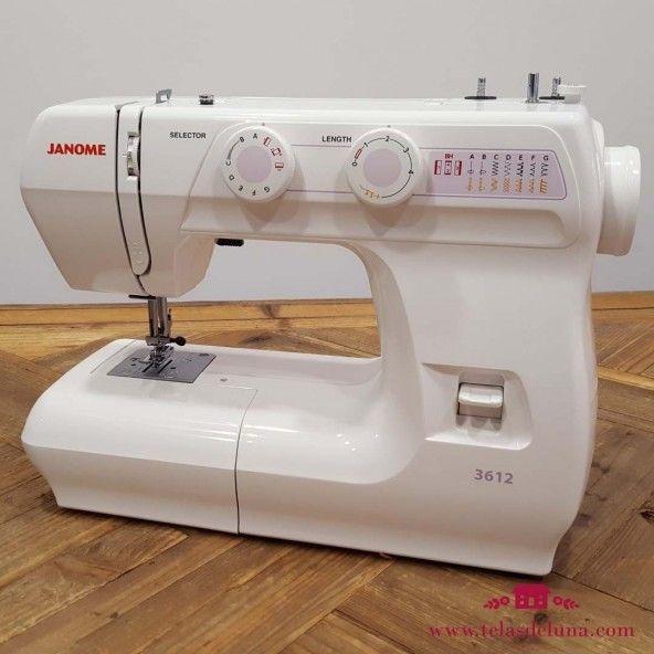 Máquina de coser Janome 3612