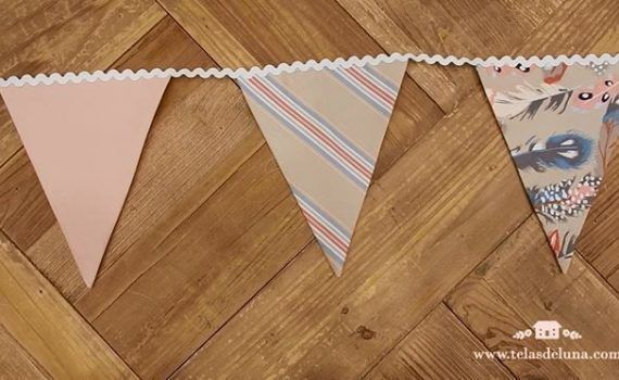 banderines de tela faciles de hacer