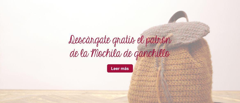 Patrón Mochila de Ganchillo en el Blog de Telas de Luna