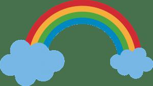 arcoiris vector festival