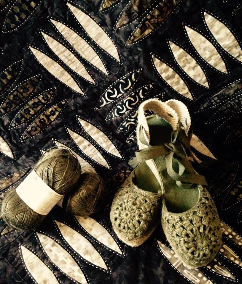 Telas batik Patchwork