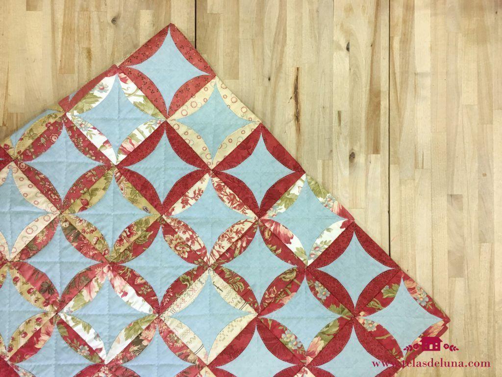 Patron gratis quilt plegado japones
