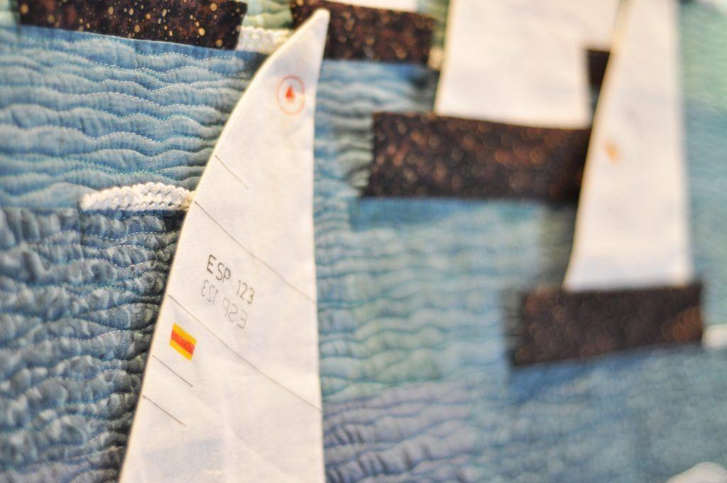 quilt barcos telas patchwork telas de luna zaragoza
