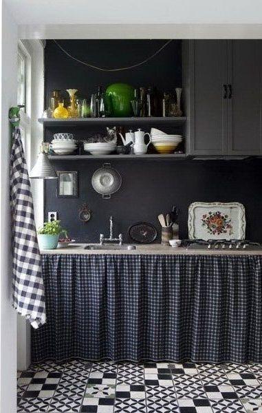 cocina cuadros vichy