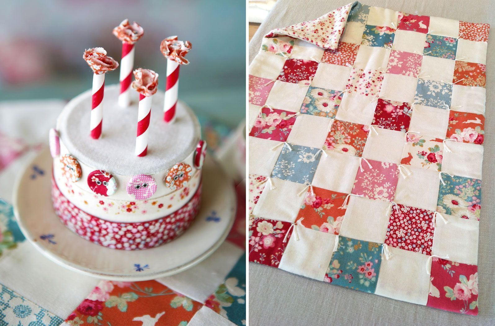 Cake-and-quilt