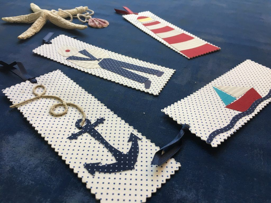 marcapaginas marinero