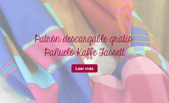descarga gratis patrón pañuelo tela patchwork kaffe fassett