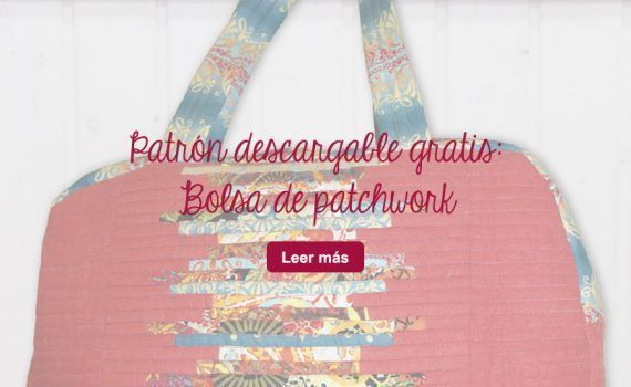 patrón gratis bolsa de patchwork