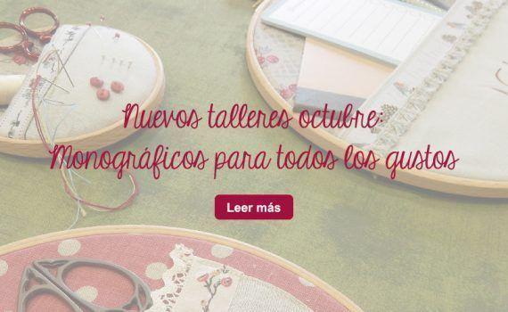 talleres manualidades diy telas patchwork monograficos zaragoza