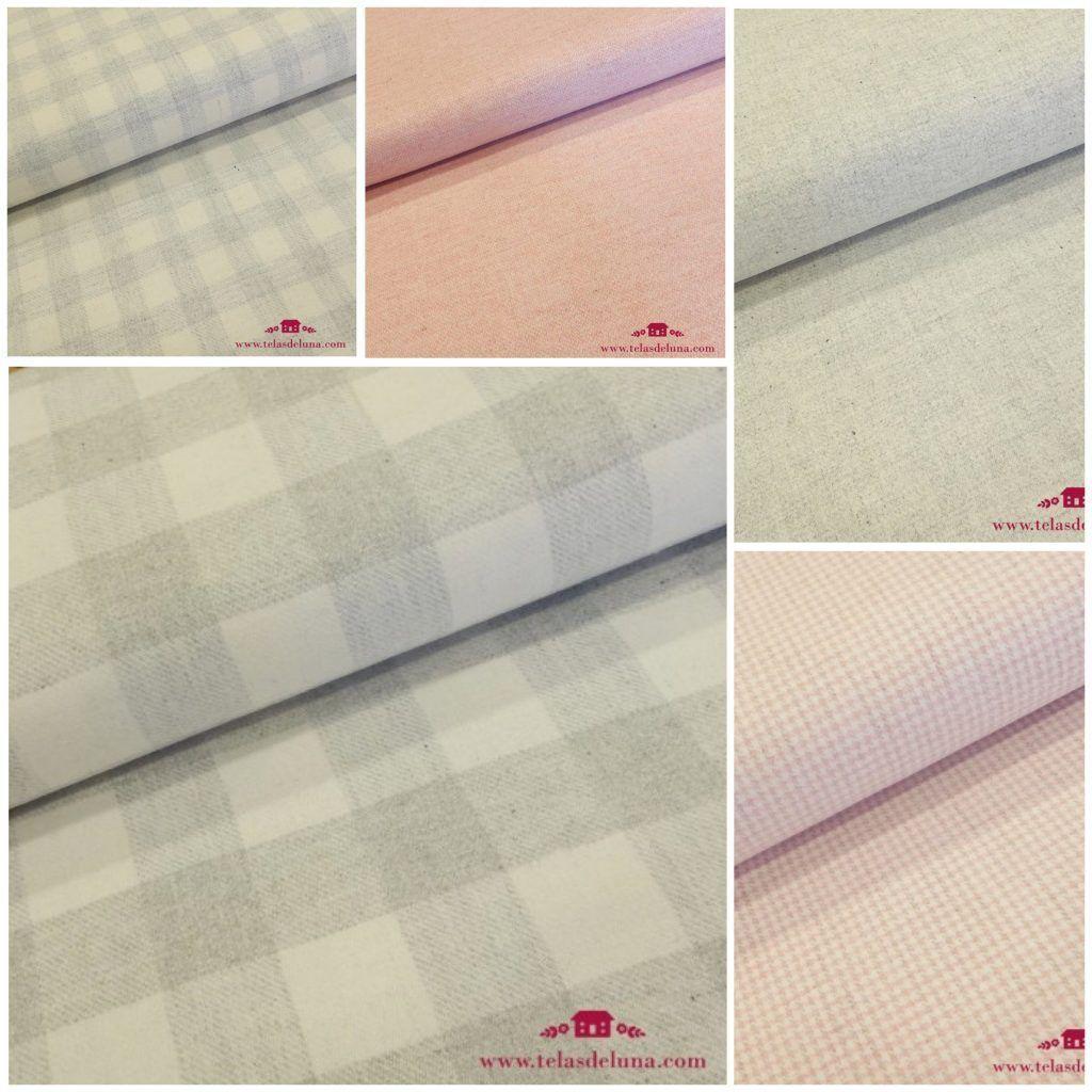 telas de lana patchwork