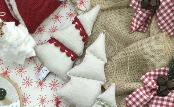 Taller navidad zaragoza telas de luna taller adornos de navidad