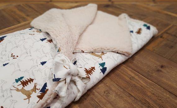 taller zaragoza telas de luna saco de bebe