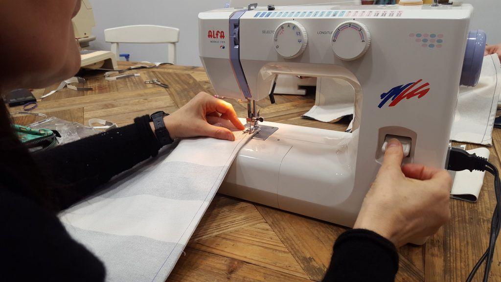 iniciacion maquina de coser zaragoza