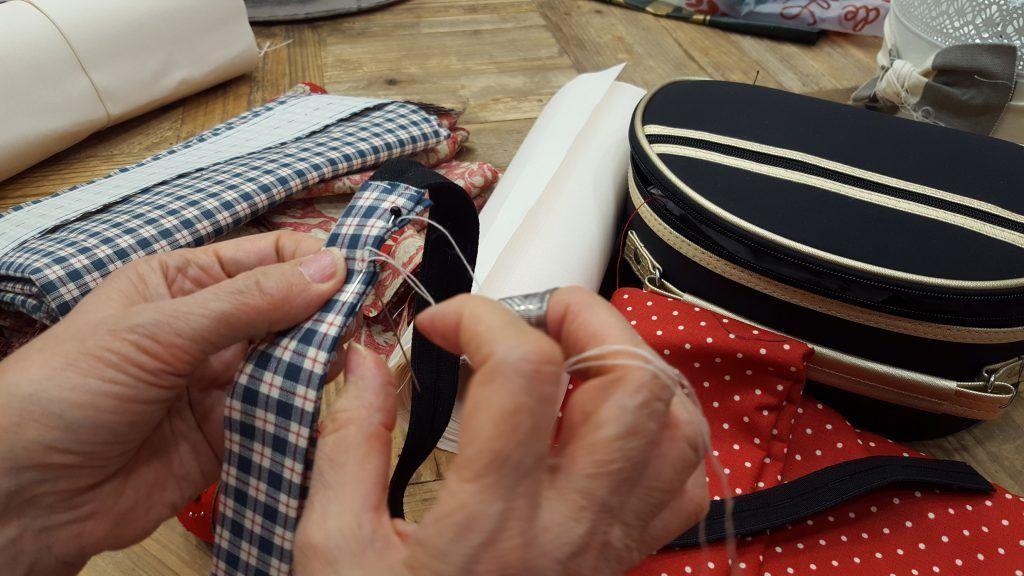 cinturilla de falda indumentaria aragonesa zaragoza