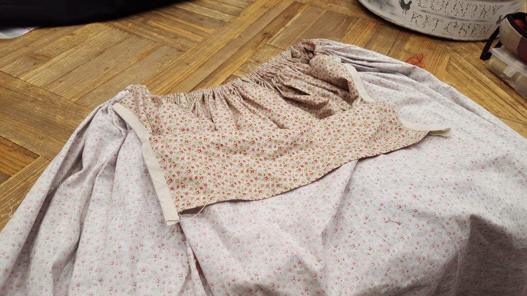 falda curso indumentaria aragonesa zaragoza