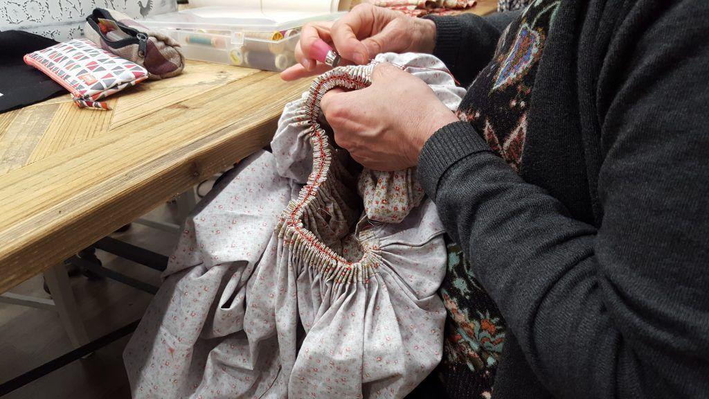 falda indumentaria aragonesa