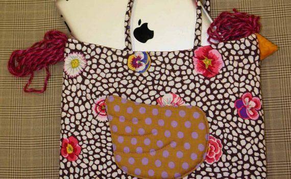 bolsa de tela para guardar el ipad