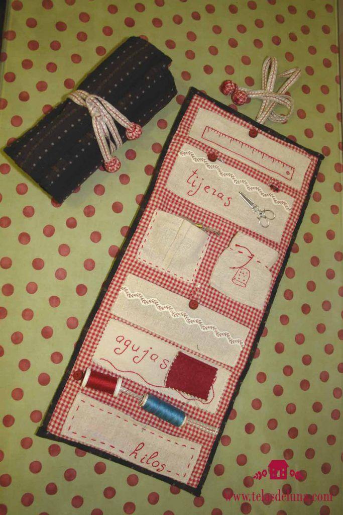 costurero de tela portahilos