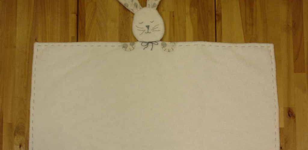 manta de apego dudu conejo